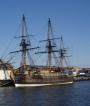Ostindiefararen Göteborg - en kopia på de skepp som på 1700-talet sjönk vid Göteborgs inlopp.