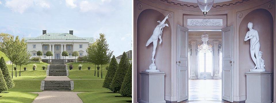 Gunnebo Slott och Trädgårdar.